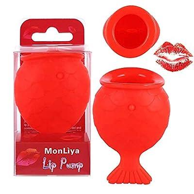 MonLiya Lips Plumper Enhancer Lips Silicone Natural Pout Mouth Tool MonLiya Sexy Lip Mouth Silicone Fish Shape