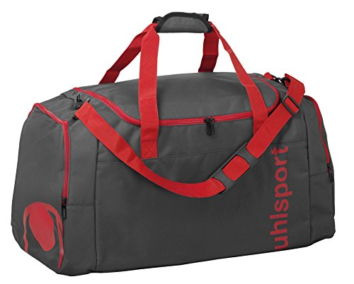 UHL Essential 2.0 Sports Sporttasche, 45 cm, 30 liters, Mehrfarbig (Anthracita/Rojo)