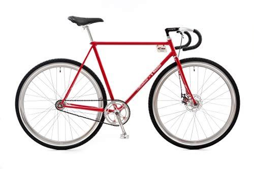 MONTANTE CICLI 450S, Bicicletta da Citta Uomo, Rosso Maserati, M