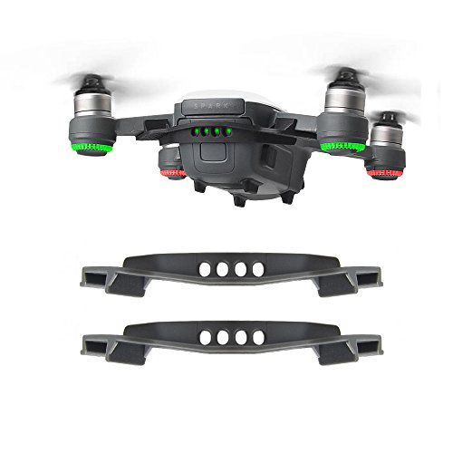 BonFook 2 Packs Battery Strap Non Slip Anti Drop Stripping Fixator Lock Securing Tie Compatible with DJI Spark