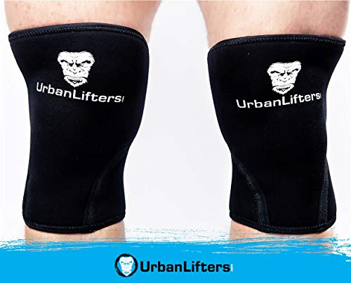 Urban Lifters Ginocchiere (Coppia) Crossfit 7mm...