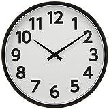 ウォールクロック [電波 掛け 時計] ブラック DT01-BK 1個