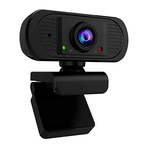 KKmoon USB Webcam mit Mikrofon Konferenz Kamera 1080p HD Video Webkamera Clip on Kamera für Laptop Notebook Monitor Desktop Mac Video Skype Xbox One YouTube OBS
