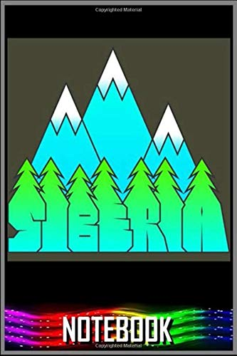 Notebook: Siberia notebook 100 pages 6x9 inch by Libo Tuii