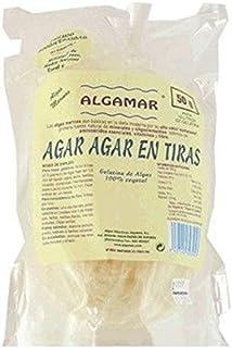 Tiras De Algas Agar Agar 50 Gr de Algamar