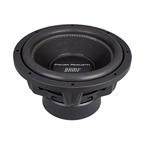 Power Acoustik BAMF-122 Bumper-122 Subwoofer 3500 Watts 12 inches Dual Suspension,Black
