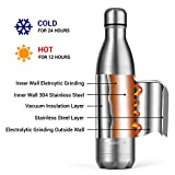 Zoom IMG-2 sportneer bottiglia acqua in acciaio
