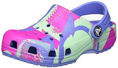 Crocs Classic Ombreblock Clog Kids, Zoccoli Unisex-Bambini, Lapis, 20/21 EU