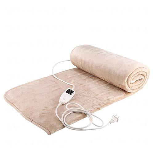 HFS Elektrische deken met dubbele verwarming, vrijstaand, waterdicht, 4 temperaturen, dubbele control, 200 x 180 cm
