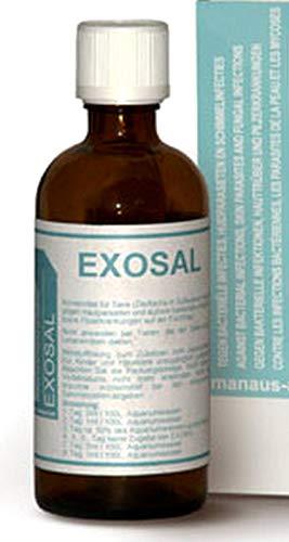 Manaus EXOSAL 100ml, Medikament gegen die meisten Infektionskrankheiten bei Zierfischen im Süß-und Meerwasser Aquarium