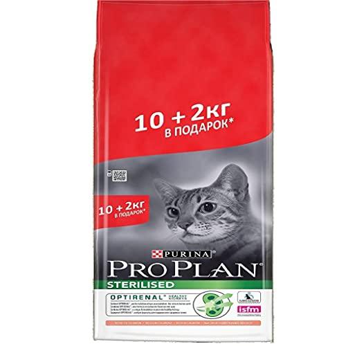 Pro Plan Promo Purina Optirenal Gato esterilizado Salmón pienso 10kg +2kg Gratis