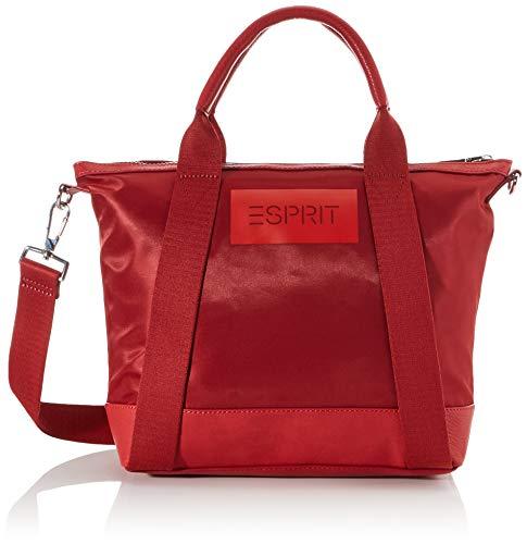 ESPRIT Damen Anniecitybag Henkeltasche Rot (Red)