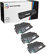 LD Remanufactured Toner Cartridge Replacement for HP 61X C8061X High Yield (Black, 3-Pack)