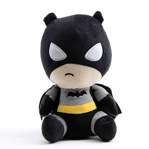 Q Stil Batman Plüschtiere Puppe Peluche Cartoon Anime Superheld Superman Figur Stofftier Baby Kinder Geburtstagsgeschenk 20cm