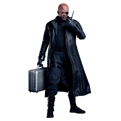 Hot Toys - Avengers figurine Movie Masterpiece 1/6 Nick Fury 30 cm