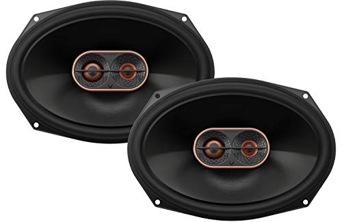 Infinity REF-9623ix 300W Max 6' x 9' 3-Way Car Audio Speaker with Edge-Driven, Textile Tweeters