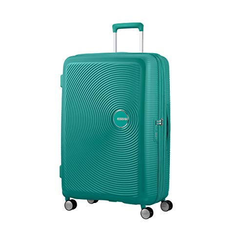American Tourister Soundbox 4-Rollen-Trolley 77 cm erweiterbar Forest Green