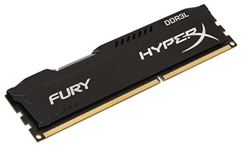 HX318LC11FB4 - Memória HyperX Fury de 4GB DIMM DDR3 1866Mhz 1,35V para desktop