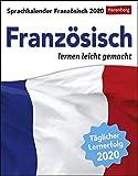 Sprachkalender Französisch Sprachkalender. Tischkalender 2020. Tageskalendarium. Blockkalender. Format 12,5 x 16 cm