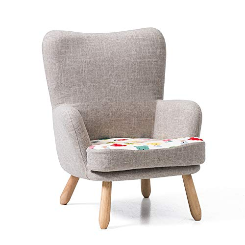 Axdwfd Ligstoel voor kinderen, achter bank, bed, kleine sofa, eenvoudig, sofa, fauteuil, sofa, baby, jongens, 58,5 x 65 x 70,5 cm Cartoon Puppy