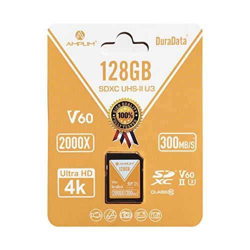Amplim High Performance High Speed UHS-II 128GB SDXC Memory Card