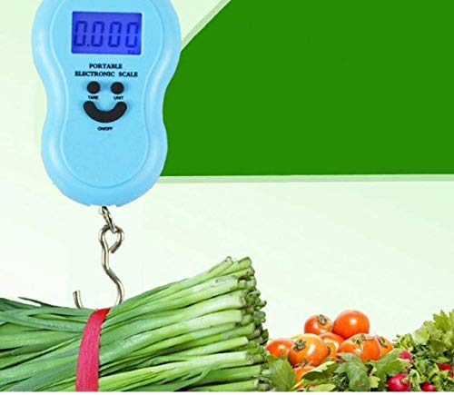 GXT Scalehand-Held Scale Hook Spring Portable Electronic Called High-Precision Weighing Scale. Portable