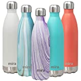 MIRA 25 Oz Stainless Steel Vacuum Insulated Water Bottle - Double...