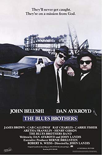 Close Up Blues Brothers Poster (61cm x 91,5cm) + Original tesa Powerstrips® (1 Pack/20 STK.)