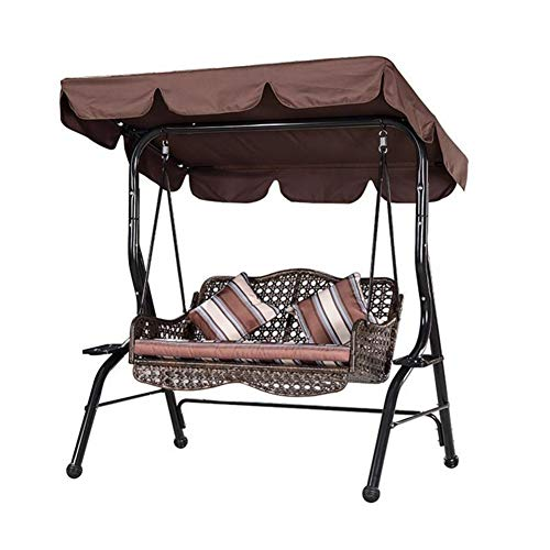 XIONGG Outdoor-Schaukel Stuhl Canopy wasserdichte Sonnenschutz UV Staubdichtes, Terrasse Schaukel Canopy Ersatz Top Cover Sonnenschutz