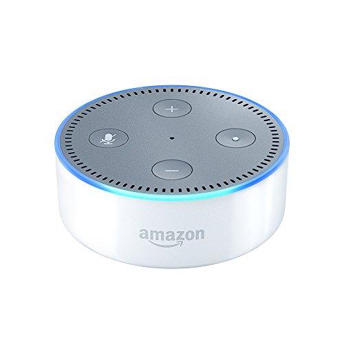Echo Dot (2nd Generation) - Smart speaker with Alexa - White