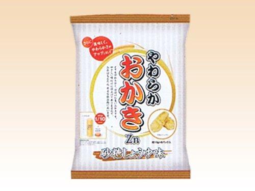 やわらかおかきCa 砂糖しょうゆ味 10g×8パック【1袋】