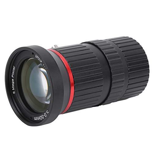 Zoomlens, zoom 5Mp Handmatige irislens met lage vervorming voor de meeste beveiligingscamera's voor beveiligingscamera's