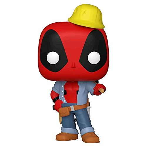 Funko Pop! Marvel 30th Anniversary #781 Construction Worker Deadpool 54688