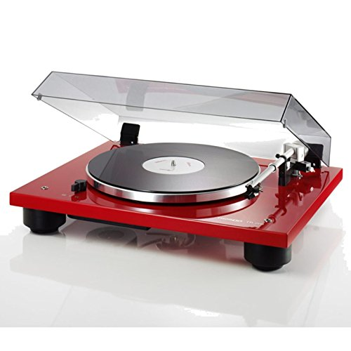 Best Bargain Thorens TD206 Gloss Red Turntable