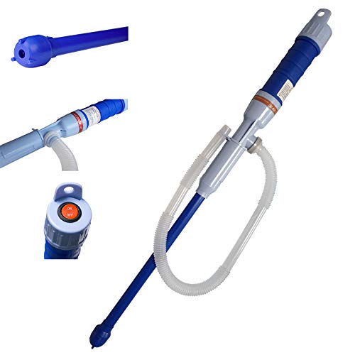 Petroleumpumpe Brennstoffpumpe elektrische Syphon Umfüll-Pumpe Kraftstoffpumpe, batteriebetrieben Benzin Öl Diesel