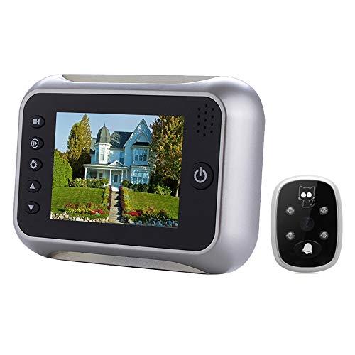Yangjian SF518 scherm met 3,5 inch (0,33 cm), 0,3 MP, beveiligingscamera, stoort het vizier, TF-kaart en infrarood nachtzicht.