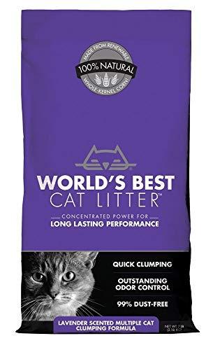 World's Best Cat Litter Extra Strength Lavender 7 lbs
