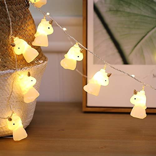 A-zht Elegante Dormitorio, Boda, 20 Leds Estilo Adolescente ardiente Hada lámpara Ornamental para Navidad Vistoso