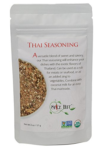 Thai Seasoning, Savory & Spicy Blend, Thai Cooking, The Spice Hut, 2 Ounce
