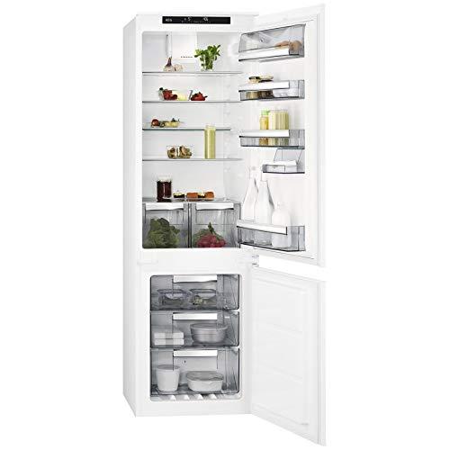 AEG SCE81816TS Intégré A+ Blanc réfrigérateur-congélateur - Réfrigérateurs-congélateurs (SN-T, 39 dB, 10 kg/24h, A+, Blanc)