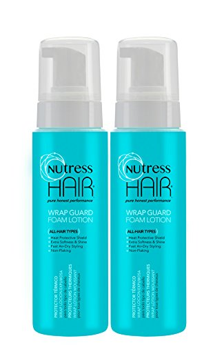 Nutress Foam Wrap Lotion 8oz, Twin Pack