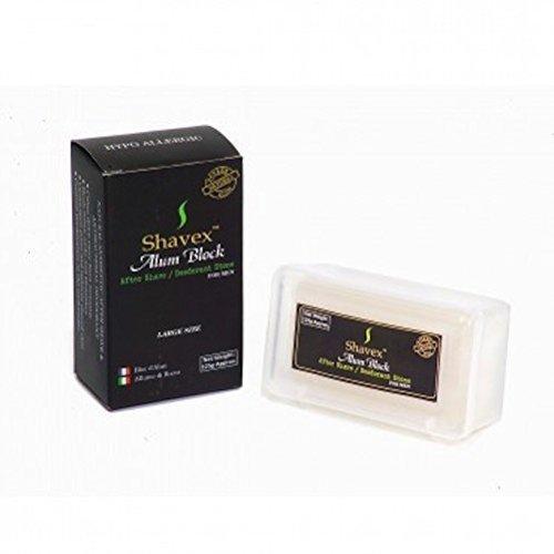 Shavex 125g Alum Block in plastic case by Shavex