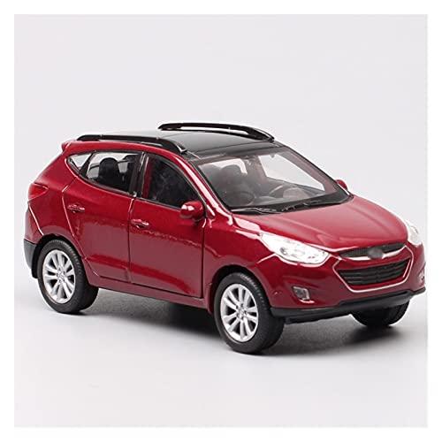 1/36 para Hyu-ndai para Tucson IX SUV Modelos De Coches De Fundición A Presión Juguetes para Vehículos Modelos De Coches Colección De Regalos...
