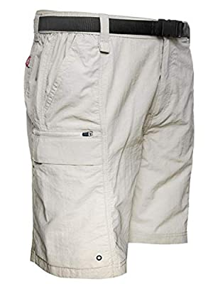 Coleman Men's Hiking Cargo Shorts (X Large, Cement)