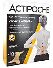 Actipoche 10 correcteurs de posture douleurs lombaires