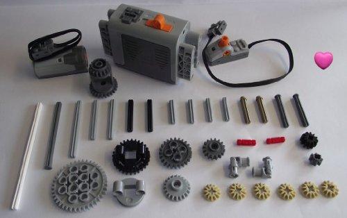 LEGO® TECHNIC 37-teiliges Motor-Set mit Zubehör Herz