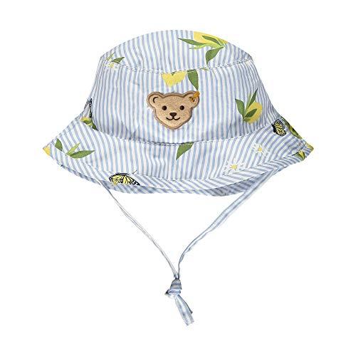 Steiff Baby-Mädchen Hut Sonnenhut, Brunnera Blue, 37