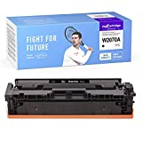 myCartridge SUPCOLOR 117A Compatible para HP 117A W2070a W2071a W2072a W2073a Toner para HP Color Laser MFP 178nw MFP 178nwg MFP 179fnw MFP 179fwg 150nw 150w Laser 150a (1 Negro)