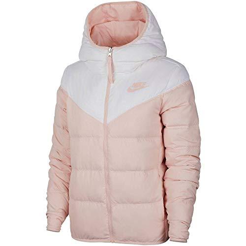 Nike Damen Sportswear Weste, weiß/echorosa/echorosa, M