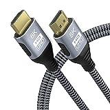 YIWENTEC Cable HDMI de 8 K 3 m 9.9FT HDMI2.1 2.0a 2.0b UHD 8 K de alta velocidad 48...